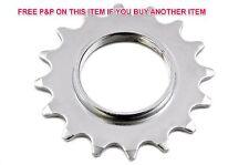 """Fixie 16 T dents 1/8"""" Sprocket Cog pour Fixe Roue Bikes & Flip Flop wheels"""