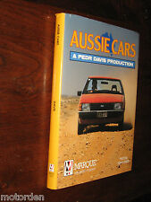 AUSSIE CARS from Australia motor vehicle pioneers to Holden, Falcon & Valiant