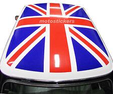 Mini Cooper Classic - Adesivi Union Jack per tetto bianco