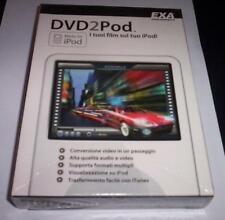 DVD2POD programma pc originale completo NUOVO IPOD