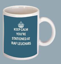 KEEP CALM YOU'RE STATIONED AT RAF LEUCHARS COFFEE MUG
