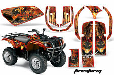 ATV Graphics Kit Quad Decal Wrap For Yamaha Grizzly YFM 660 2002-2008 FIRESTRM O