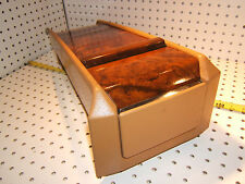 Mercedes Late C124 300CE E320C Coupe E500 REAR seat BURL wood Palomino 1 Console