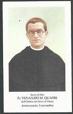 Estampa del Siervo Venanzio andachtsbild santino holy card santini