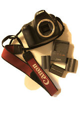 Canon EOS 30D 8.2MP Digital SLR Camera - Black (Body, Portable Charger And Batt)