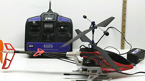 E-flite Xtreme Helicopter R/C Radio Control Toy + 4 Ch PPM Controller 72 Mhz
