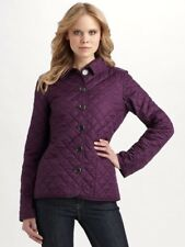 burberry brit copford quilted jacket Grape XS