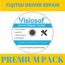 FUJITSU Drivers Software Repair Restore CD DVD Windows 10 8.1 8 7 Vista XP