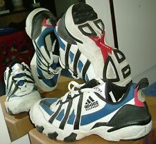 Seltene Adidas Laufschuhe Equipment Torsion 03/96, Gr. 46 2/3; Vintage