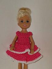 Handmade Chelse/Kelly mattel doll clothes - Hot Pink
