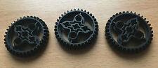 LEGO Technic Neuware 3x Großes Zahnrad 32498 schwarz 42030 9398 gear