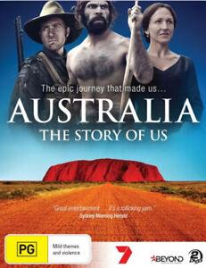 AUSTRALIA : THE STORY OF US - 2 DVD Set - NEW & SEALED REGION 4