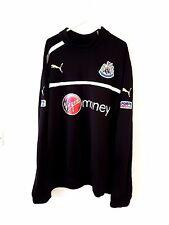 Newcastle United Jumper. XL. Puma. Black Adults Utd Long Sleeves Football Top.