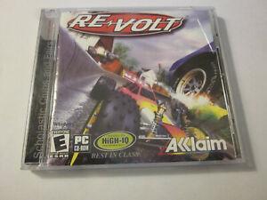 PQ REVOLT RE-VOLT PC CD ROM GAME WINDOWS WIN 95/98 1999 ACCLAIM