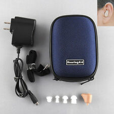 BEST K-88 Rechargeable acousticon In Ear Hearing Aids Audiphone Sound Amplifier
