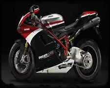Ducati 1198S Corse Se 10 4 A4 Metal Sign Motorbike Vintage Aged