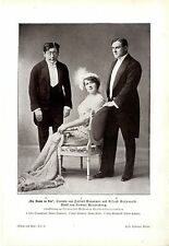 Estrenos dama en rojo opereta Berlín m. Ottmann F. grande a. kutzner arte... 1912