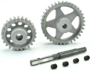 B&M Racing Traxxas X-Maxx 25 Pinion 35 Spur Gear Set - 8mm Shaft - 1000-1100kv