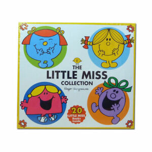 Little Miss Collection 20 Books By Adam Hargreaves Paperback