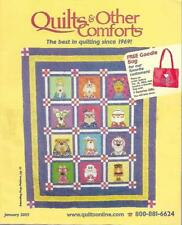Quilts & Other Comforts January 2003 Catalog for Quilting Supplies & More