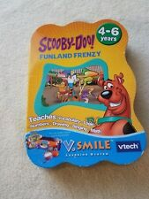 V TECH SMILE SCOOBY DOO FUNLAND FRENZY GAME NEW FACTORY SEALD