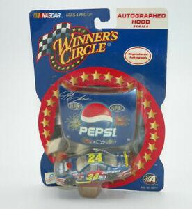 Winners Circle JEFF GORDON Pepsi Car #24 Autographed Hood NEW FREE SHIPPING