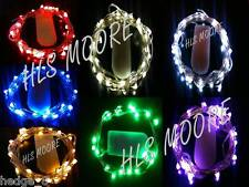 20 LED CR2032 Battery Fairy Lights in 9 COLOUR and 2 WIRE TYPES! UK seller/stock