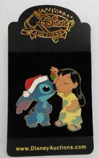 Disney Auctions ~ Lilo and Stitch Celebrate Under the Mistletoe DA LE 250 Pin