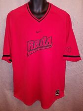 Cincinnati Reds Embroidered Heavy Polyester Nike T-Shirt NWOT - Mens B&T Medium