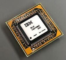 Rare IBM 486 Microprocessor - Blue Lightning DX2 - 486-V266QA,Intel,80486