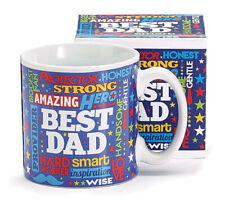 Mr. Dad Ceramic Mug with Box, Multicolor, Burton & Burton