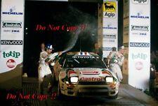 Didier Auriol Toyota Celica Turbo 4WD Winner San Remo Rally 1994 Photograph 1