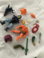 He-Man Masters of the Universe Accessories Bundle Mattel Action Figure MOTU 80s