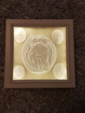 #5 Grand Tour Intaglios Display Cabinet box Frame Light Gems Medallions Tassie