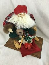 Vintage Christmas Decorations Handmade Father Christmas Santa Figure Limited Edt