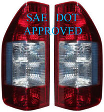 1995-2006 DODGE Sprinter Freightliner Tail Lights Light Lamps Pair Red+Clear