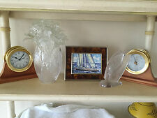 Weems Plath Ships Bell Clock and Barometer