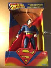 "1995 Kenner Ultimate Superman Man Of Steel DC Comics 10"" figure Canadian Variant"