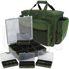 verde aislamiento Carry All Bolsa de viaje 4+1 abordar Trozo Caja Pesca De Carpa