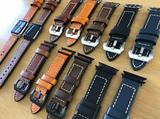 Quality Leather Replacement Leather Watch Strap Band for Apple Watch 1 2 3 42mm