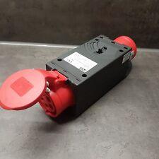 PCE Stromverteiler Adapter CEE 32 A - 16 A m. Sicherung LS 94364322