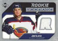 2005-06 Upper Deck Rookie Threads #RTJS Jim Slater Jersey (white)  - NM-MT