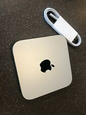 Apple Mac Mini 1.4GHz i5 Late 2014 8GB 500 Hard Drive Running Catalina Scratched
