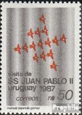 Uruguay 1757 unmounted mint / never hinged 1987 Pope Johannes Paul II.