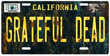 Jerry Garcia The Grateful Dead Vintage Replica 1965 California License Plate