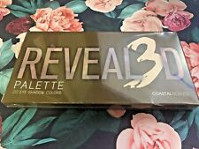 Coastal Scents Revealed 3 Eye Shadow Palette (PL-038) - NEW FACTORY SEALED