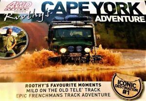 AUSTRALIAN 4WD ACTION: Roothys CAPE YORK Adventure DVD Iconic Destinations #1 R0