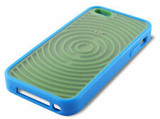 FUNDA CARCASA APPLE IPHONE 5 5S 5C DISEÑO RETRO GAME VERDE AZUL PLASTICO DURO