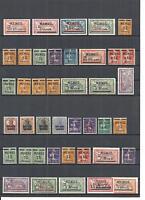 Memel, Litauen, Kleipeda 1920-23, Sammlungen aus MiNrn: 1 - 150, ohne Gummi (*)