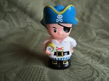 Fisher Price Little People Pirate Pack Eye Patch Compass Mean Swashbucklers New